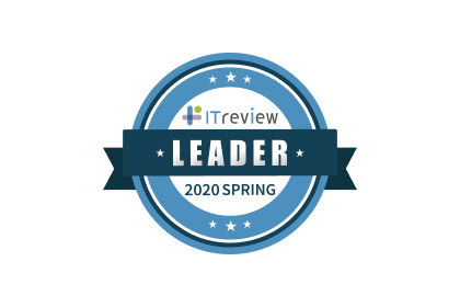 ITreview GridAward 2020 Springで「Leader」を受賞